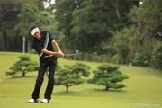 2011年 日本オープンゴルフ選手権競技 3日目 河井博大
