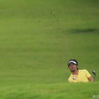 今日は全然だめだったとコメント。TOTAL +1 6T 2011年 日本オープンゴルフ選手権競技 3日目 河瀬賢史