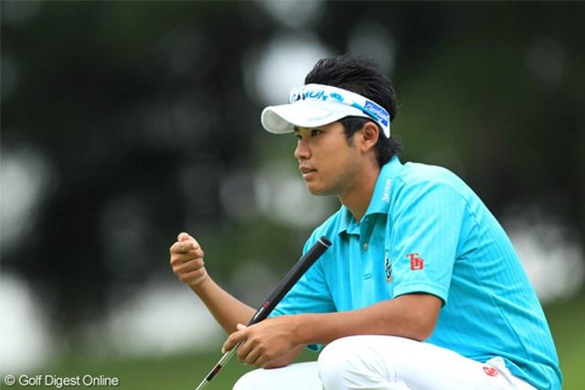 2011年 日本オープンゴルフ選手権競技 3日目 松山英樹 松山英樹は2年連続のローアマは厳しく。「最終日はアンダーパーで回れるように頑張りたい」