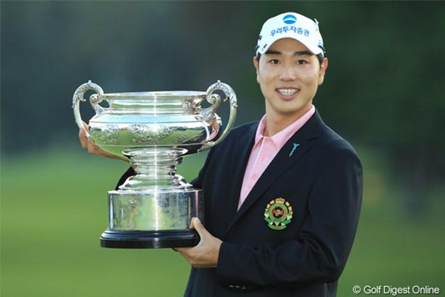 2011年 日本オープンゴルフ選手権競技 最終日  ベ・サンムン ベ・サンムンが久保谷健一とのプレーオフを制しメジャー初制覇!