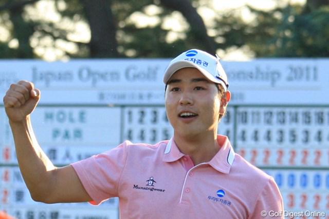 2011年 日本オープンゴルフ選手権競技 最終日 ベ・サンムン ベ・サンムンはこれで日韓のナショナルオープンを制覇した