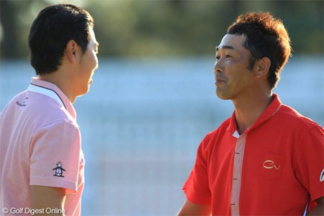 2011年 日本オープンゴルフ選手権競技 最終日 久保谷健一 プレーオフで敗れた久保谷健一は「耐えられるだけ耐えた」と充実感も漂わせた
