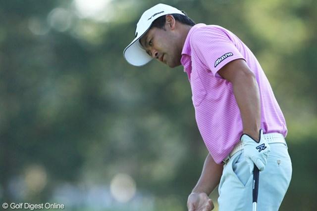 2011年 日本オープンゴルフ選手権競技 最終日 手嶋多一 シード喪失の危機に瀕していた手嶋多一は優勝こそ逃したが…