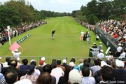 2011年 日本オープンゴルフ選手権競技 最終日 1H  Teeバックスタンド