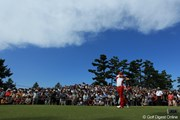 2011年 日本オープンゴルフ選手権競技 最終日 石川遼 8H Tee Shot