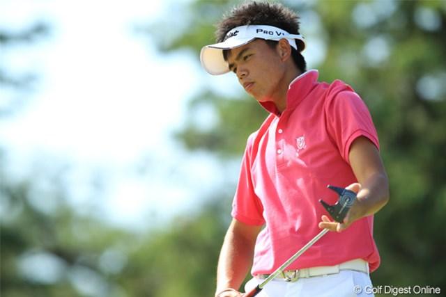 2011年 日本オープンゴルフ選手権競技 最終日 洪健堯 今年のローアマチュアに輝きました!