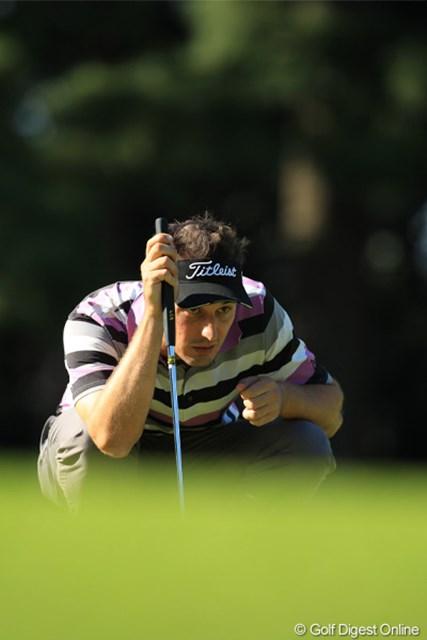 2011年 日本オープンゴルフ選手権競技 最終日 ネベン・ベーシック 今日は崩れに崩れ優勝争いから脱落。