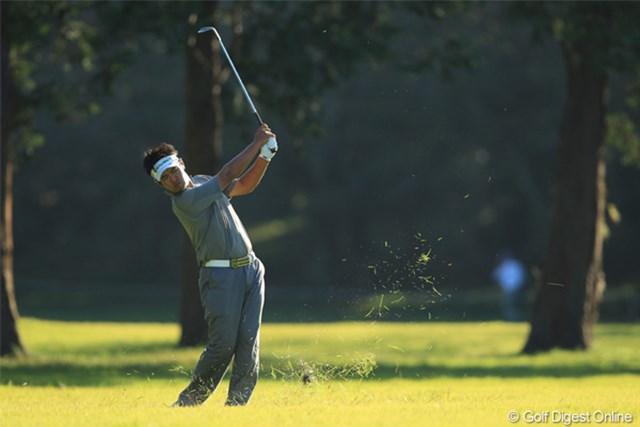 2011年 日本オープンゴルフ選手権競技 最終日 武藤俊憲 17H 2nd SHOT 最終日、一番スコアが悪かった。