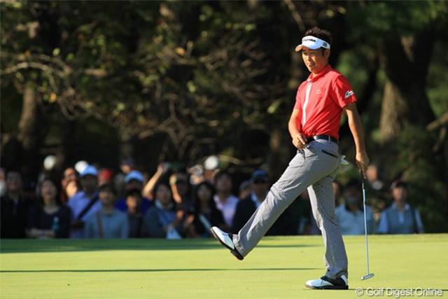 2011年 日本オープンゴルフ選手権競技 最終日 久保谷健一 惜しくも2週連続優勝ならず、それよりビックタイトルを取れなかった悔しさの方が上ですよね。