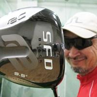 「ロイヤルコレクション SFD Black ドライバー」を試打検証 マーク試打 ロイヤルコレクション SFD Black ドライバー NO.1