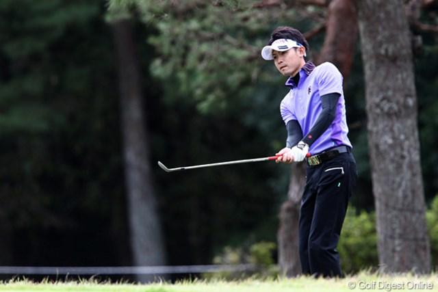2011年 ブリヂストンオープンゴルフトーナメント 初日 諸藤将次  初優勝から好調キープ?2位スタート