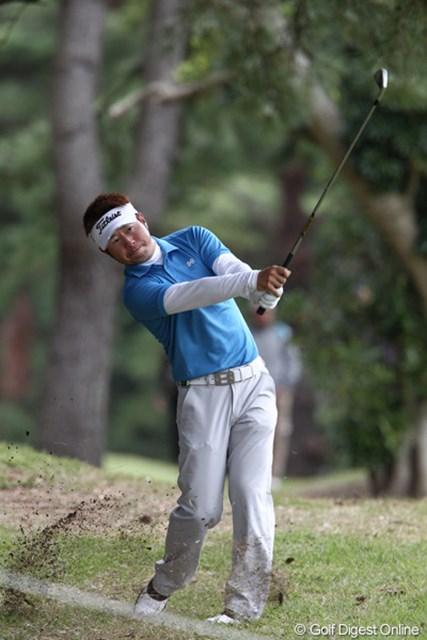 2011年 ブリヂストンオープンゴルフトーナメント 初日 松村道央  3アンダー4位で初日フィニッシュ