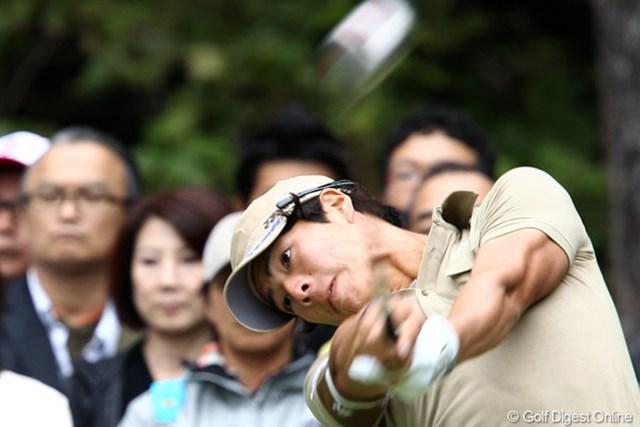 2011年 ブリヂストンオープンゴルフトーナメント 初日   石川遼  遼くんの魅力はなんと言っても飛ばしだよね