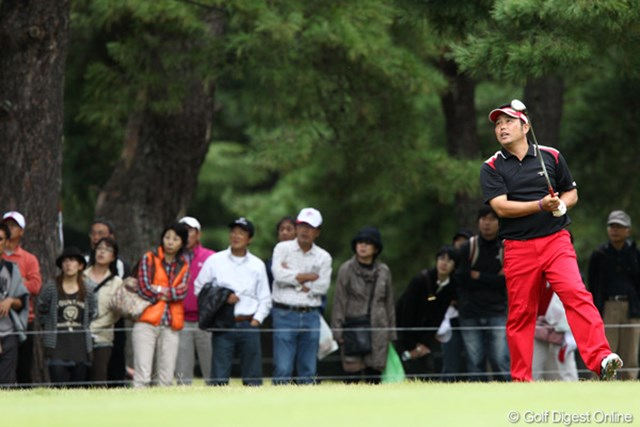 2011年 ブリヂストンオープンゴルフトーナメント 2日目 小田龍一 トップと2打差の3位タイ
