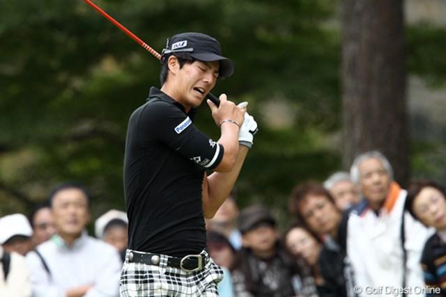 2011年 ブリヂストンオープンゴルフトーナメント 2日目 石川遼 やっちまったか~?トップとは3打差