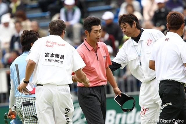2011年 ブリヂストンオープンゴルフトーナメント 2日目 池田勇太 3連覇ならず、おまけに予選敗退