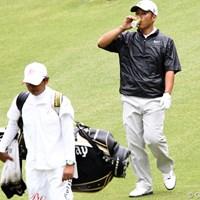 男は黙って缶コーヒー、でも3位タイ 2011年 ブリヂストンオープンゴルフトーナメント 2日目 原口鉄也