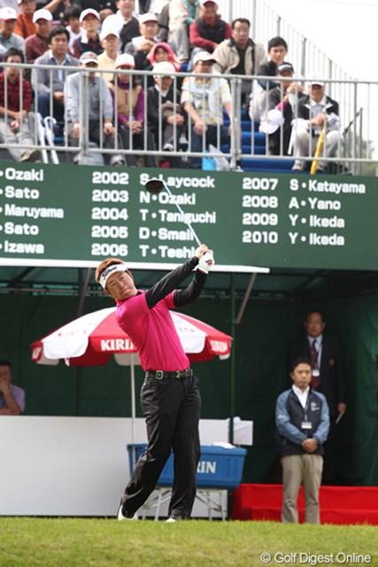 昨季2勝でブレークした松村道央。今季初勝利で大会の歴代優勝者に名を連ねたい