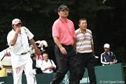 2011年 ブリヂストンオープンゴルフトーナメント  3日目 中嶋常幸、尾崎将司