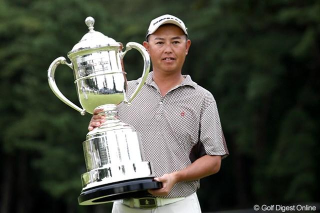 2011年 ブリヂストンオープンゴルフトーナメント  最終日  谷口徹 谷口徹が後続の猛追をかわし、終わってみれば圧勝で今季初勝利をマーク