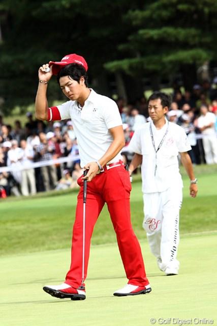 手痛いミスが響き、石川遼は優勝争いに加わることができなかった