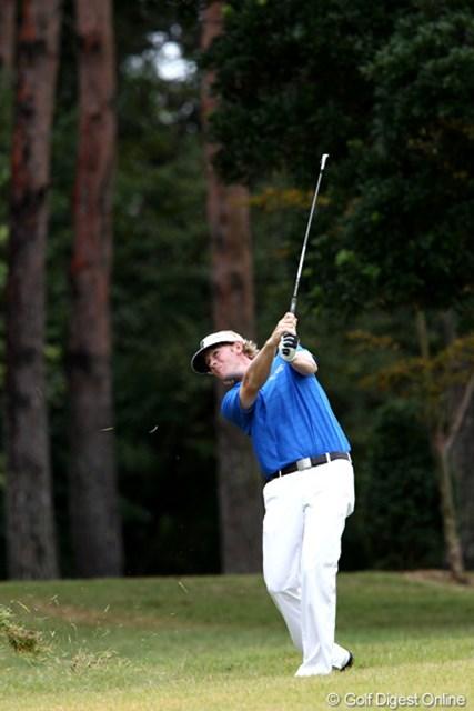 2011年 ブリヂストンオープンゴルフトーナメント  最終日 ブラント・スネデカー 「招待してもらったブリヂストンに感謝」また日本に来てください
