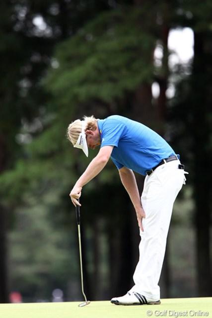 2011年 ブリヂストンオープンゴルフトーナメント  最終日 ブラント・スネデカー 反省だけなら・・・残念