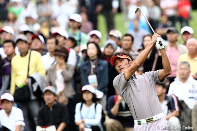 2011年 ブリヂストンオープンゴルフトーナメント  最終日 河井博大  「4日間良いゴルフが出来たので満足です」