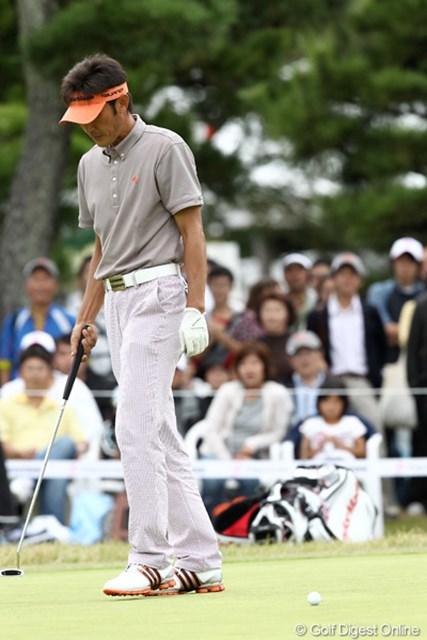 2011年 ブリヂストンオープンゴルフトーナメント  最終日 河井博大 最終18番パーパットを決めれば単独の2位だったけど・・・