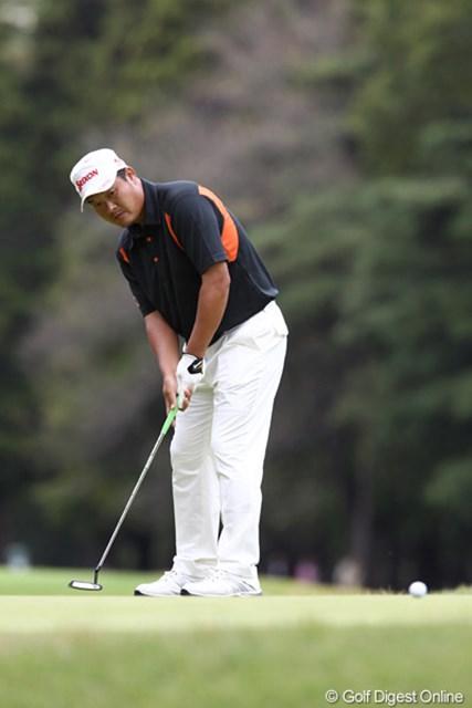 2011年 ブリヂストンオープンゴルフトーナメント  最終日  小田孔明  「今日はいいゴルフしてたんだけどね」10アンダー2位タイ