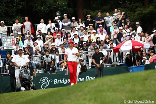 2011年 ブリヂストンオープンゴルフトーナメント  最終日  石川遼  良かったり悪かったりの4日間