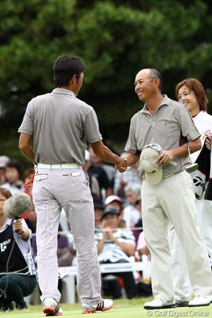 2011年 ブリヂストンオープンゴルフトーナメント  最終日  谷口徹  優勝を公言して勝つのはすごいです