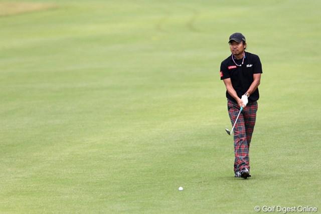 2011年 ブリヂストンオープンゴルフトーナメント  最終日  片山晋吾  6連続バーディもとり2位タイまで浮上