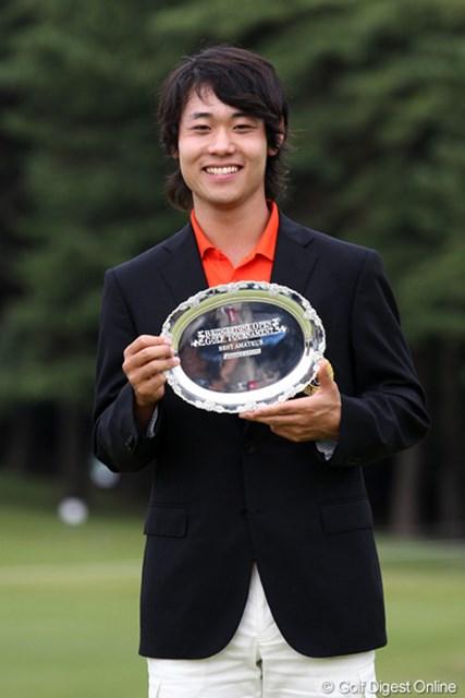 2011年 ブリヂストンオープンゴルフトーナメント  最終日  櫻井勝之  ベストアマ獲得、サードQTにでるそうな・・