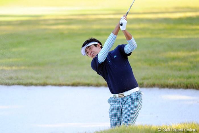 7ストローク伸ばし単独首位に浮上した富田雅哉 2011年 マイナビABCチャンピオンシップゴルフトーナメント 2日目 富田雅哉