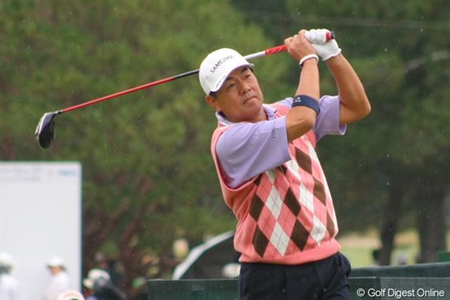 2011年 日本シニアオープンゴルフ選手権競技 3日目 室田淳 首位タイに並ばれるも、明日は最終組でタイトル獲得に挑む