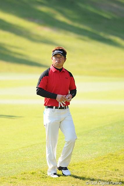2011年 マイナビABCチャンピオンシップゴルフトーナメント 3日目 松村道央 序盤バーディを量産し単独首位に浮上していた松村道央だったが・・・