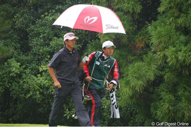 2011年 日本シニアオープンゴルフ選手権競技 最終日 芹澤信雄 あと1打が足りなかった・・・。悔しくて悔しくて…。