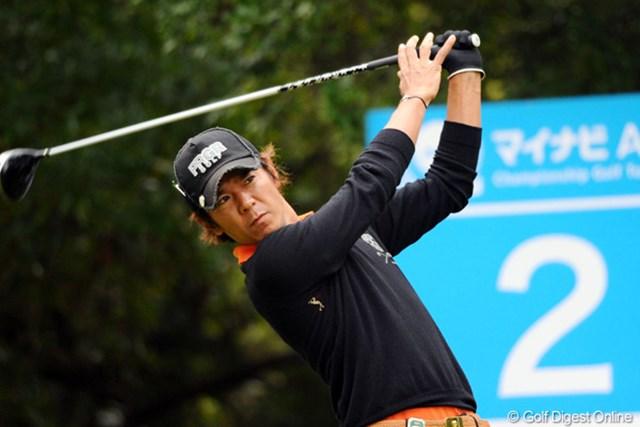 2011年 マイナビABCチャンピオンシップゴルフトーナメント 最終日 矢野東 6ストローク伸ばして5位タイに食い込んだ矢野東