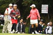 2011年 樋口久子 森永製菓ウイダーレディス 最終日 有村智恵と宮里美香