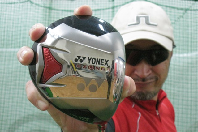 クラブライターのマーク金井が「ヨネックス EZONE タイプ 450E ドライバー」シャフトを試打レポート