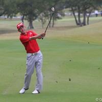 賞金王タイトル獲得なるか。首位と3打差の11位タイとまずまずのスタートを切ったキム・ジョンドク 2011年 富士フイルムシニアチャンピオンシップ 初日 キム・ジョンドク