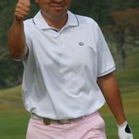 GOOD-SHOT!!!のプロマイド的な1枚。お見事です。 2011年 富士フイルムシニアチャンピオンシップ 2日目 冨永浩