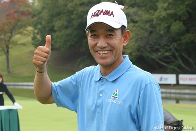 2011年 富士フイルムシニアチャンピオンシップ 最終日 キム・ジョンドク 賞金王タイトルを獲得したキム・ジョンドクは、来季は国内シニアツアー、韓国のレギュラーツアーを中心に出場する