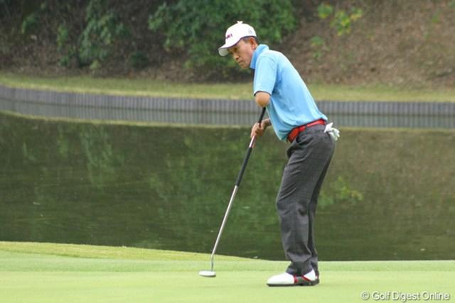 2011年 富士フイルムシニアチャンピオンシップ 最終日 キム・ジョンドク 「今週は調子が良かった」と単独2位でフィニッシュしたキム・ジョンドク