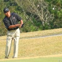 アプローチを寄せてきっちりバーディスタート。 2011年 富士フイルムシニアチャンピオンシップ 最終日 尾崎健夫