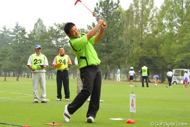 2011年 第9回スナッグゴルフ対抗戦 JGTOカップ全国大会 増田伸洋 9ホールで10アンダーは立派だが、プロの中では無念の最下位