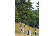 2011年 ミズノクラシック 最終日 ボールが木に・・・