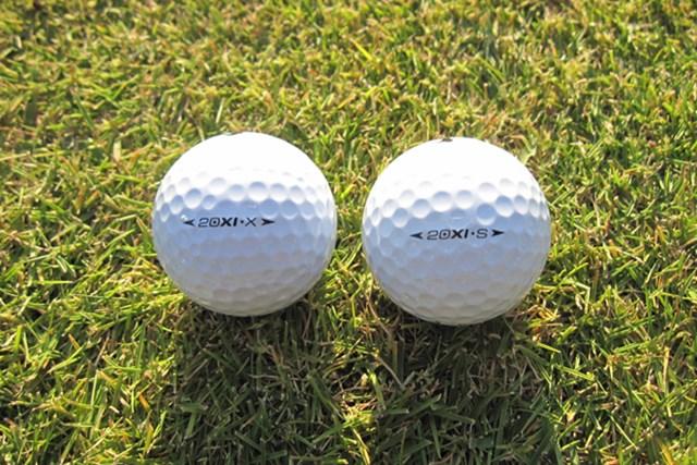 ギアニュース ボール業界に革命!?コア素材を変えた「ナイキ 20XI」 NO.3 20XIボールは2種類。飛距離重視の「X」とスピン性能重視の「S」