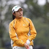 伊藤園所属、なかなかの美人です 2011年 伊藤園レディスゴルフトーナメント 初日 山本亜香里
